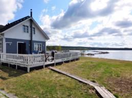 Vakantiehuis aan meer